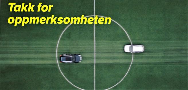 I den nye kampanjen sier Statens vegvesen takk for oppmerksomheten til den den som kjører bil. Vegdirektør Terje Moe Gustavsen sier: «På noen få, korte sekunder kan du tilbakelegge en strekning like lang som en fotballbane, nær sagt i 'blinde'.»
