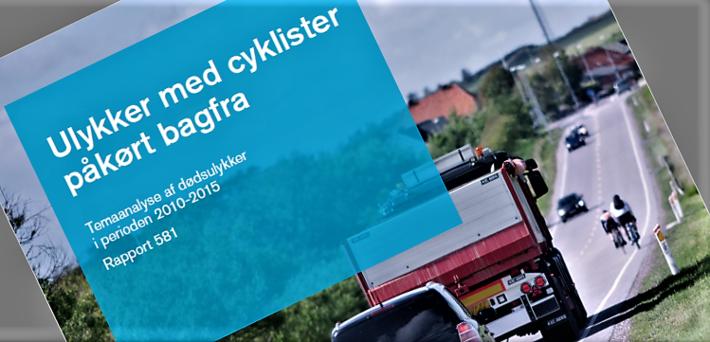Dank nærblikk på ulykker der syklister blir påkjørt bakfra: En rapport datert juni 2018.