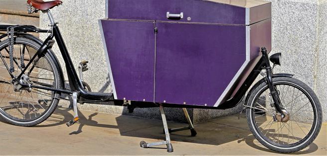 En økonomisk gulrot til varedistributører som vil ta i bruk el-lastesykler. Foto:Marko Beric / Scandinavian Stockphoto.