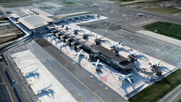 Oslo lufthavn, enda en utvidelse.