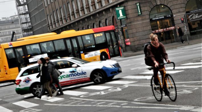 København satser på å bli en CO2-nøytral by. En avansert reiseplanlegger kan tenkes å gi et puff i den retning. Foto: Samferdsel.