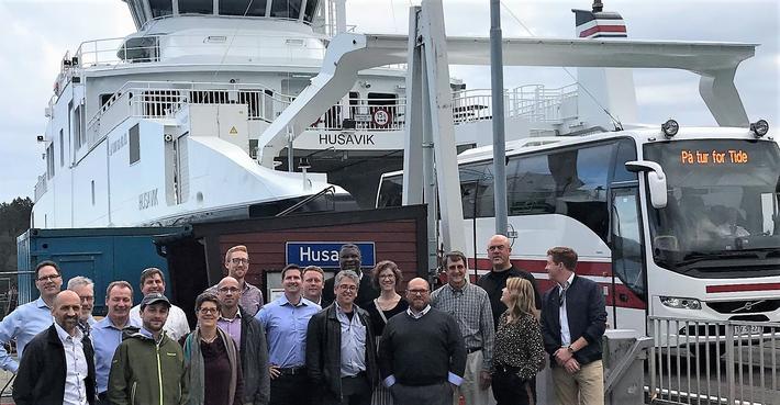 En el-fergeopplevelse har inngått i amerikanernes besøksprogram. Foto: Port of Seattle/Innovasjon Norge