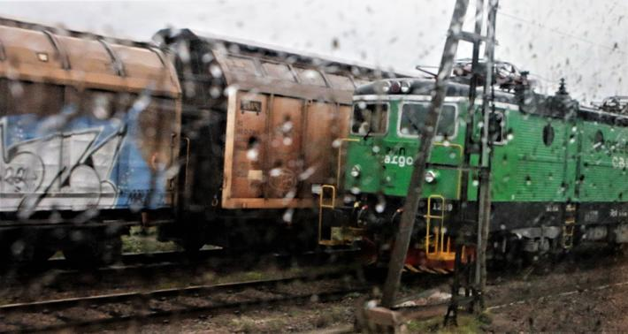 Jernbane og annen insfrastruktur i Sverige ventes utsatt for ekstreme værhendelser som kommer til å være «mer ekstreme enn de som inntreffer i dag.» Illustrasjonsfoto: F. Dahl.