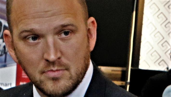 Jon Georg Dale, ny samferdselsminister med et nytt budsjettforslag. Arkivfoto: F. Dahl