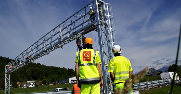 ITS. «Vi har mange spennende og sterke aktører i det norske ITS-landskapet, og flere av dem trenger lignende drahjelp som Q-Free fikk for 35 år siden», skriver kronikkforfatteren. Illustrasjonsfoto fra Slovenia: Q-Free.