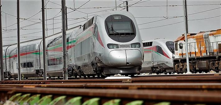 Høyhastighetstog Marokko. Sterk fransk deltagelse, ikke minst i form av togsett fra Alstom, i gjennomføringen av det marokkanske prosjektet. Foto: Alstom.