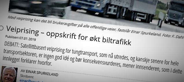 Lasse Fridstrøm kommenterer dette innlegget, skrevet av Einar Spurkeland.
