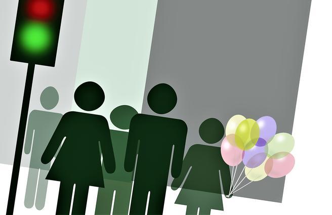 Tiltak rettet mot barn og ungdom er blant dem som vil bli prioritert, ifølge Samferdselsdepartementet. Illustrasjon: Alida Vanni /Scandinavian Stockphoto