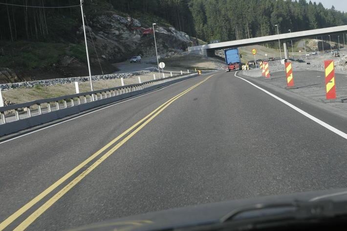 Veibygging er blant flere brikker i forarbeidet til en ny NTP. Illustrasjonsfoto: Samferdsel