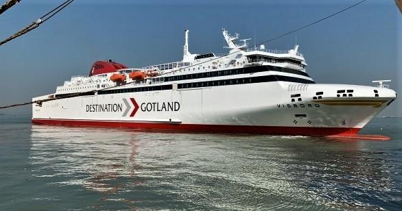 «M/S Visborg», levert fra Kina. Foto: Skippax