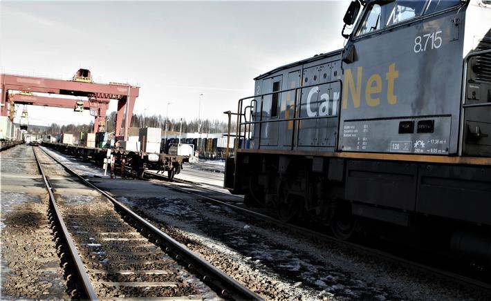 Alnabruterminalen. Fagfolk i transportsektoren har i årevis argumentert for utvidelse og modernisering av Alnabruterminalen. Foto: F. Dahl