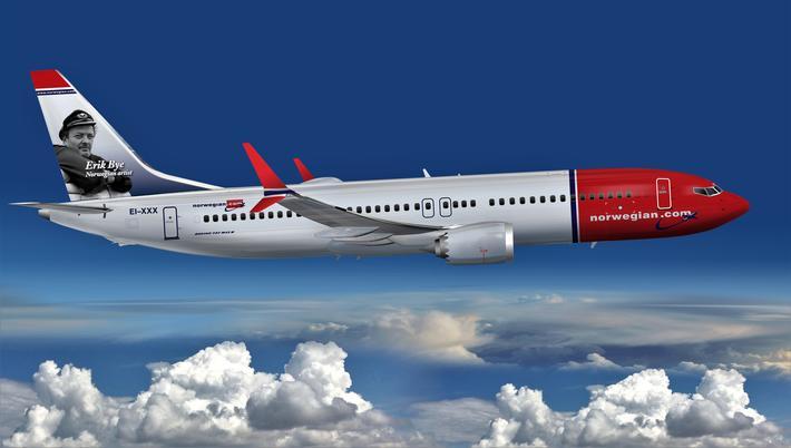 Boeing MAX 737. Norwegian mottok sin første Boeing 737 MAX for to år siden. Det norske selskapet er blant de mange som er rammet av at flytypen i mars ble satt på bakken. Illustrasjon: Creative Commons