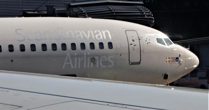 Passasjertall Avinor. Streik blant SAS-pilotene er ifølge Avinor en vesentlig forklaring på fallet i passasjertalleene. Foto: F. Dahl