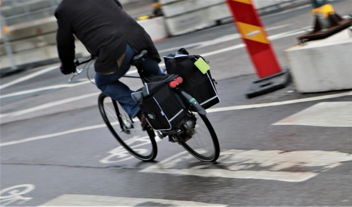 elsykler, Sverige. Elsykling i Sverige – i stor grad istedenfor bilkjøring, viser en evaluering. Illustrasjonsfoto: Samferdsel.