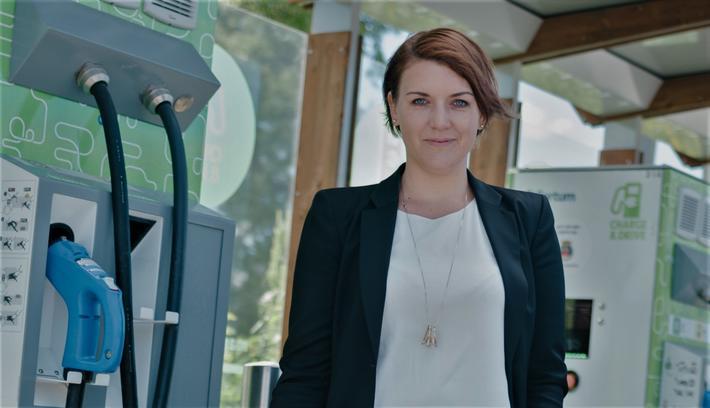 Lavere elbilandel enn generalsekretær Christina Bu i Norsk elbilforening helst hadde sett. Foto: Norsk elbilforening
