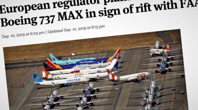Boeing 737 MAX. Seattle Times har løpende rapportert om det som har skjedd i tilknytning til de to Boeing 737 MAX-krasjene.