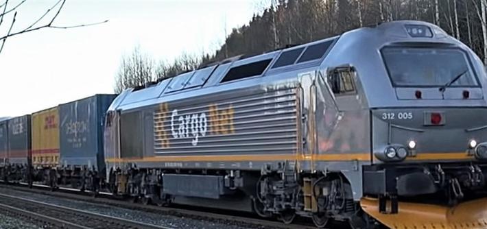 Vei til jernbane, Nord-Norge. Mer å gjøre for toget nordover fra Trondheim. Illustrasjonsfoto: CargoNet