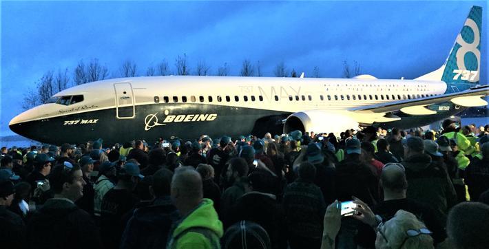 Boeing 737 MAX. Forventningene til Boeing 737 MAX var store da flytypen ble rullet ut i 2015. Foto: Aka The Beav / Wikimedia Commons
