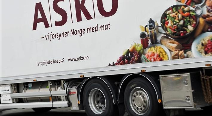 Hydrogendrevne lastebiler. ASKO, her med en eldre lastebil, satser på hydrogendrevne lastebiler. Illustrasjonsfoto: Enova