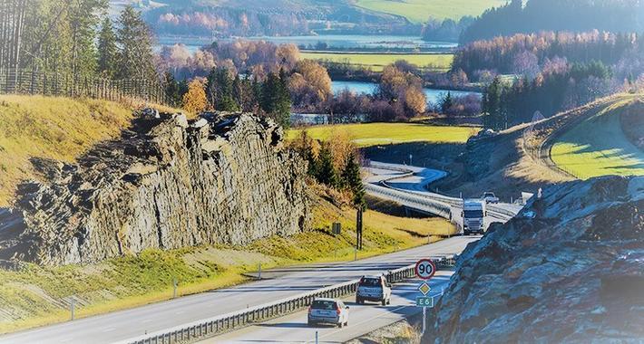 Nasjonal transportplan. Vei, bane, sjø og luftfart er i fokus når en ny NTP utarbeides. Illustrasjonsfoto: Knut Opeide/SVV