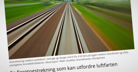 Lyntog Oslo-Stockholm