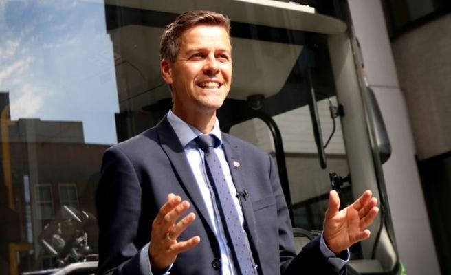 Elsparkesykler, blindeforbund, Hareide. Samferdselsminister Knut Arild Hareide sier seg opptatt av problematikk knyttet til elsparkesykler. Foto: Foto: SD/TLM