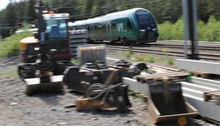 NTP utarbeides. Mye spenning – ikke minst hva jernbanen angår – er knyttet til hva kommende vårs nye NTP vil by på av videre satsing. Illustrasjonsfoto: F. Dahl