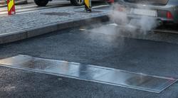 En annerledes fartsdemper. En ny type fartsdemper som senkes når farten er for stor.
