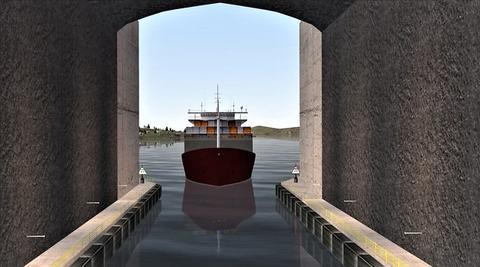 Stad skipstunnel. Et ikke helt dagligdags tunnelprosjekt – og det har vakt internasjonal oppmerksomhet. Illustrasjon: Kystverket