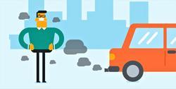 Klimaplanen. Lasse Fridstrøm konsentrerer seg i kommentaren mest om utslipp fra veitransporten, men skriver også: «Regjeringen avviser å kutte utslippene der de skjer – på garden mens drøvtyggerne fordøyer fôret – og angriper i stedet helt motsatt ende av verdikjeden, gjennom parolen om at vi må legge om kostholdet. Som om utslippet oppstår når vi mennesker spiser!» Illustrasjon: Andrei Krauchuk /Scandinavian Stockphoto
