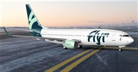 Flyr, Boeing og dekorasjoner. Se her, sånn skal Flyr-flyene ta seg ut. Illustrasjon: Unfold.