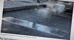Annerledes fartsdempere. Samferdsels tidligere omtale av fartsdemperne ble publisert 3. desember i fjor.