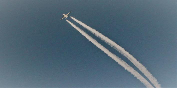 Grønn luftfart. Deltagerne i den nye samlingen ser for seg reduserte utslipp fra luftfarten. Illustrasjonsfoto: F. Dahl