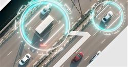 NTP-penger til teknologirelatert forskning. Transportinfrastruktur i samspill med ny teknologi … Illustrasjon: Klipp fra rapporten Teknologi for bærekraftig bevegelsesfrihet og mobilitet (2019).