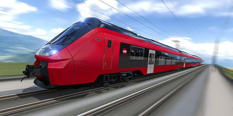 Nye togsett til Danmark. Slik skal fremtidens dominerende togsett i Danmark se ut. Illustrasjon: DSB/Alstom