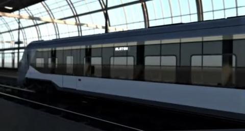Stor dansk togbestilling. Strid om det DSB ser som «fremtidens tog» i Danmark. Illustrasjon: Klipp fra DSB/Alstom-video