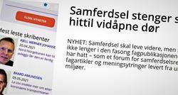 Et annerledes Samferdsel. Før pinsehelgen publiserte Samferdsel nyheten om at nettstedet går over til å bli et rendyrket TØI-forum. Nå skriver TØIs kommunikasjonssjef, Harald Aas, om bakgrunnen for denne forandringen.